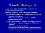 scientific meetings 5