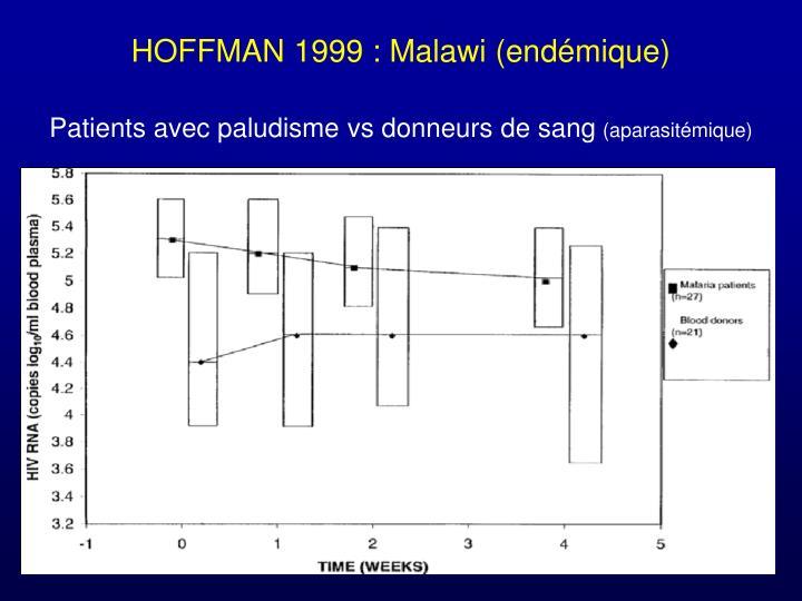 HOFFMAN 1999 : Malawi (endémique)