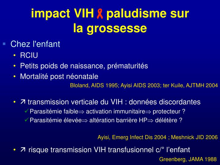 impact VIH