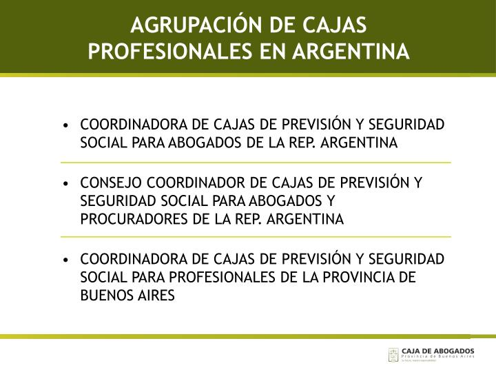 AGRUPACIÓN DE CAJAS