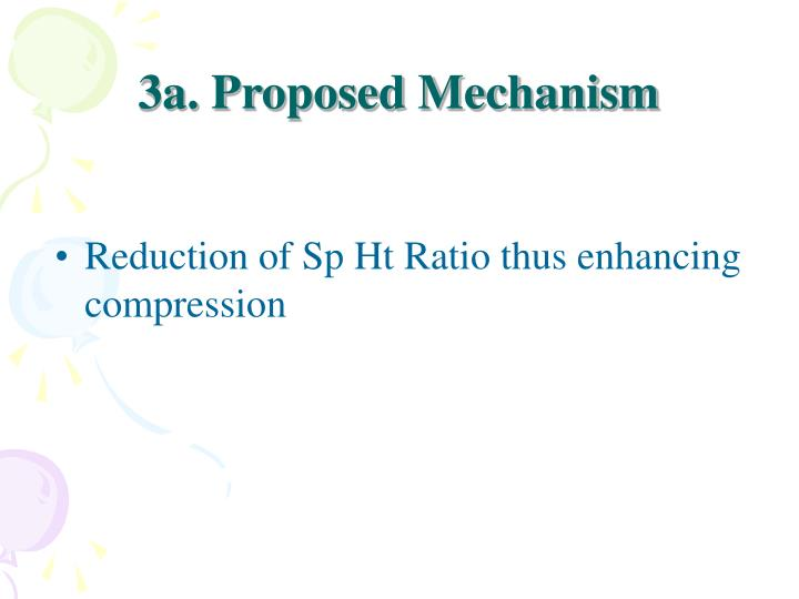 3a. Proposed Mechanism