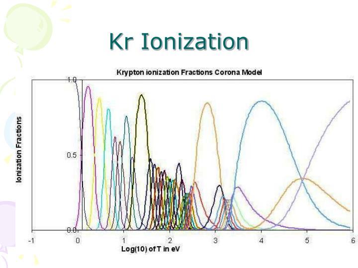 Kr Ionization