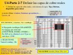 u4 parte 2 7 definir las capas de cobre reales