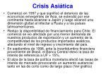 crisis asi tica