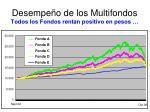 desempe o de los multifondos todos los fondos rentan positivo en pesos