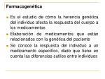 farmacogen tica