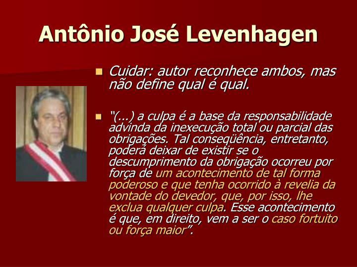 Antônio José Levenhagen