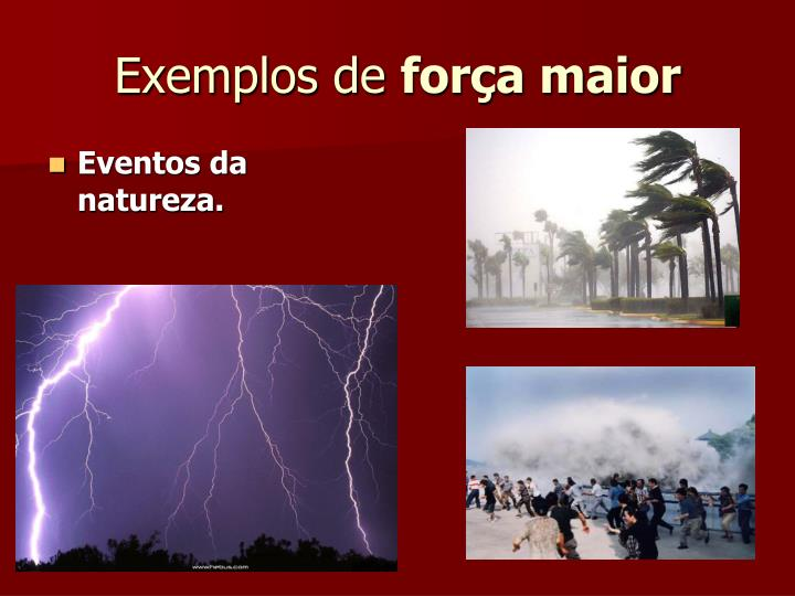 Exemplos de