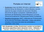 portales en internet