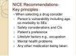 nice recommendations key principles3
