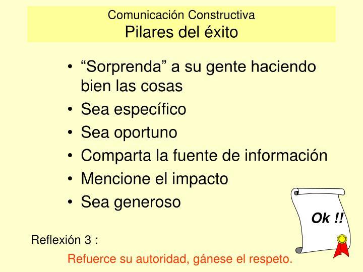 Comunicación Constructiva