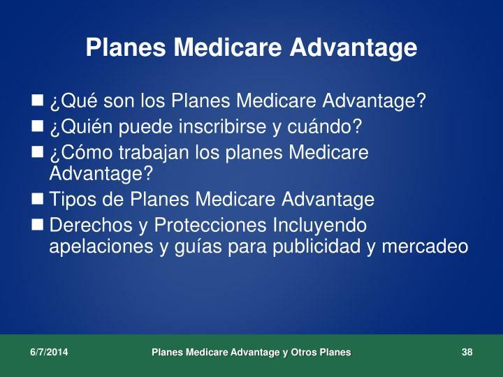 Planes Medicare Advantage