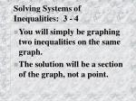 solving systems of inequalities 3 4