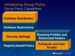 introducing group policy group policy capabilities5