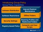 introducing group policy group policy capabilities7