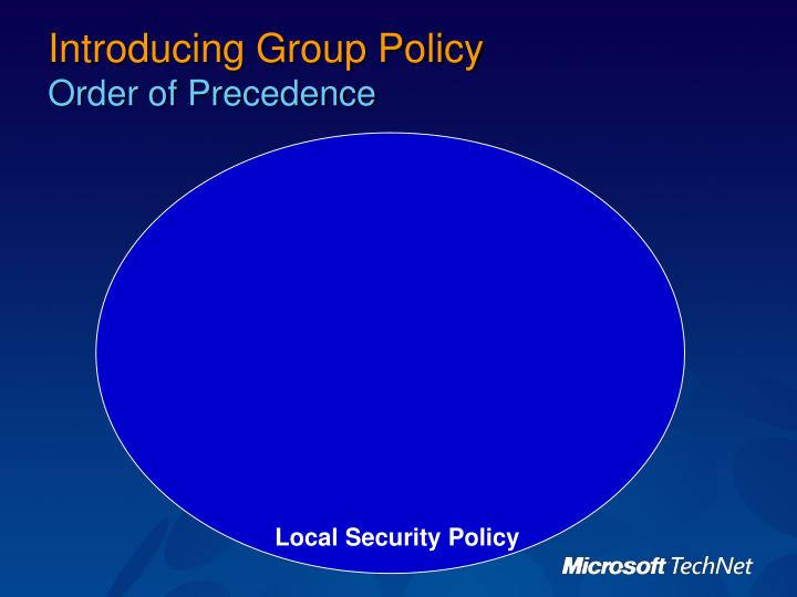 Introducing Group Policy