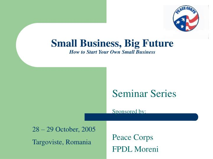 small business big future how to start your own small business n.