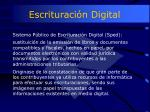 escrituraci n digital