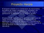 proyecto harpia