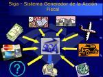 siga sistema generador de la acci n fiscal
