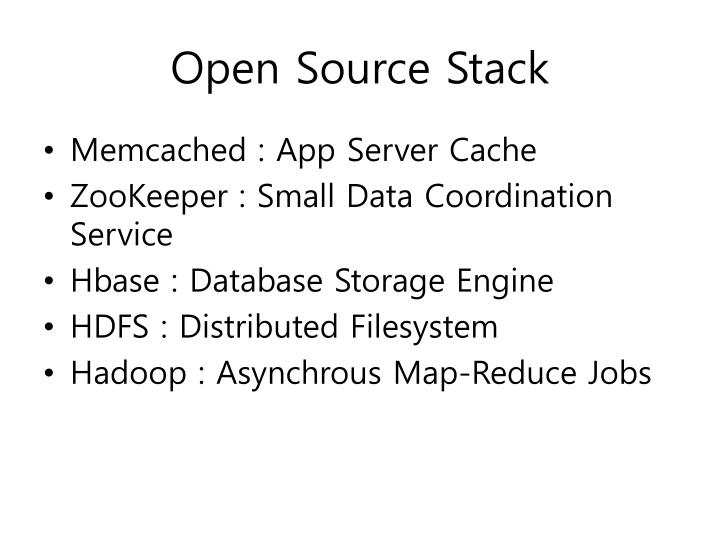 Open Source Stack