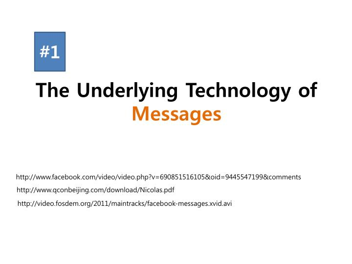 The Underlying Technology of