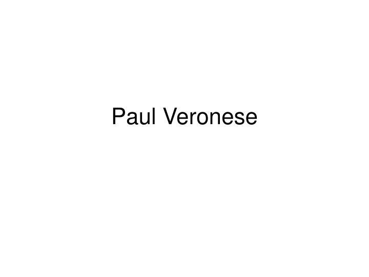 Paul Veronese