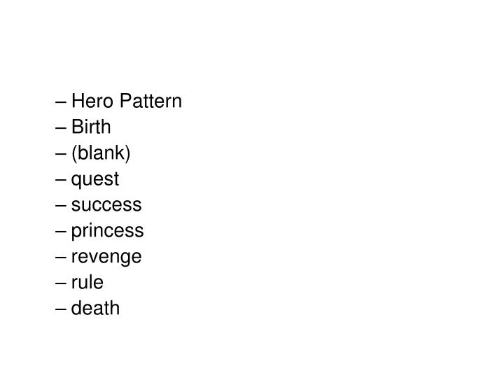Hero Pattern