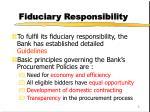 fiduciary responsibility1