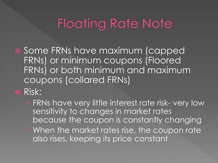 Floating Rate Note