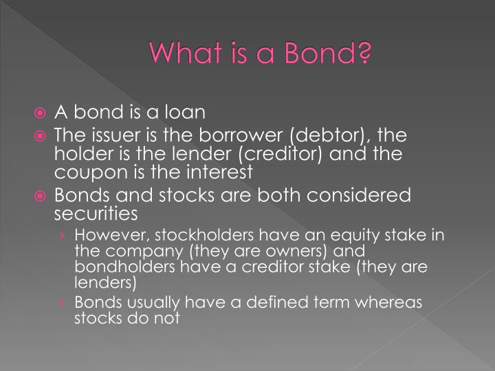 What is a bond1