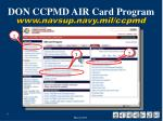 don ccpmd air card program