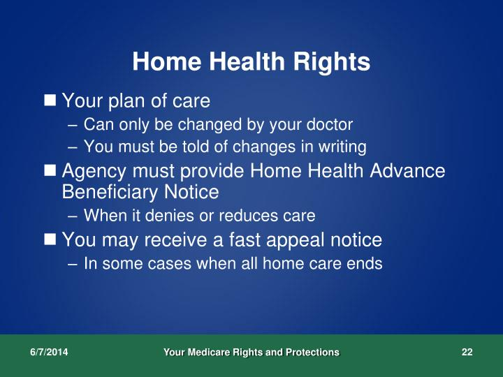 Home Health Rights