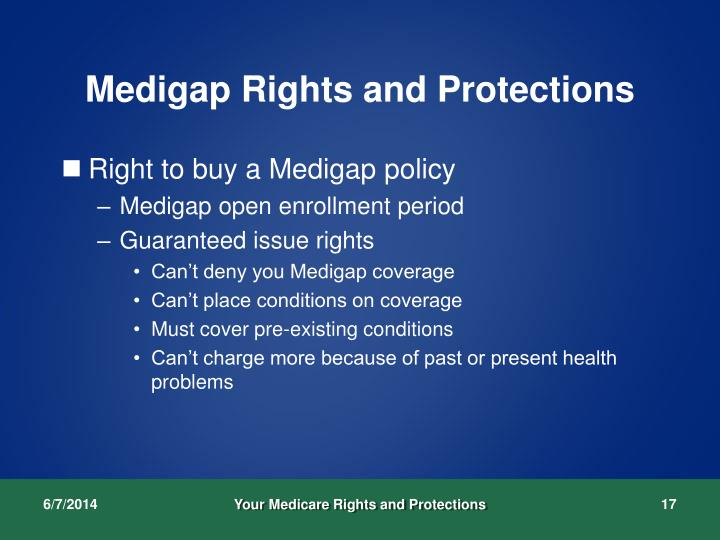 Medigap Rights and Protections