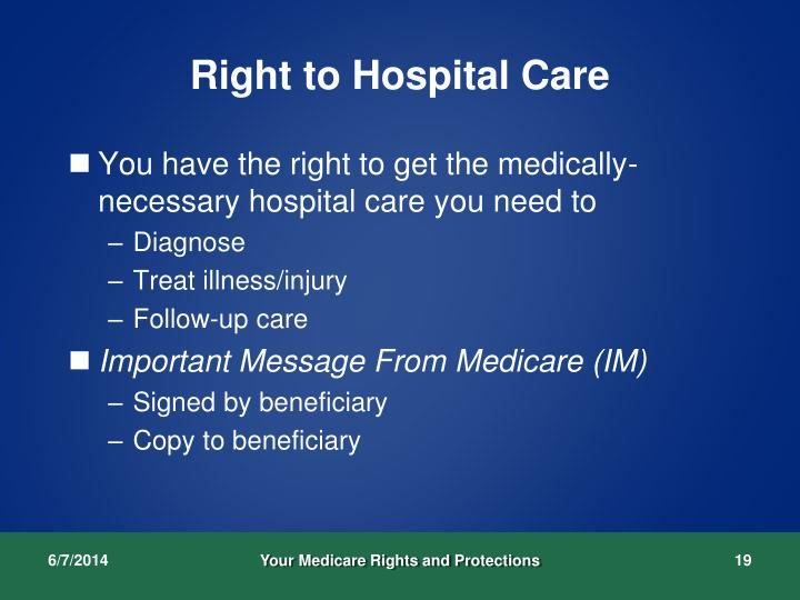 Right to Hospital Care
