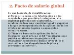 2 pacto de salario global