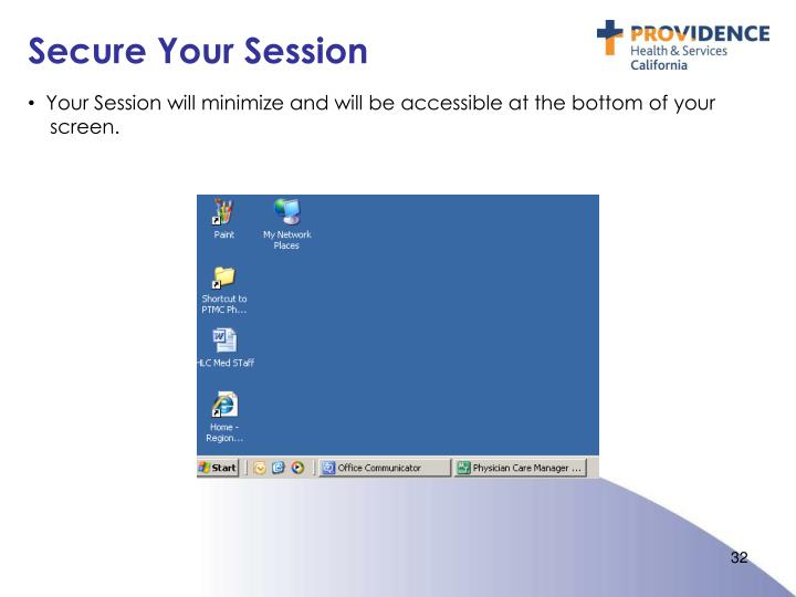 Secure Your Session