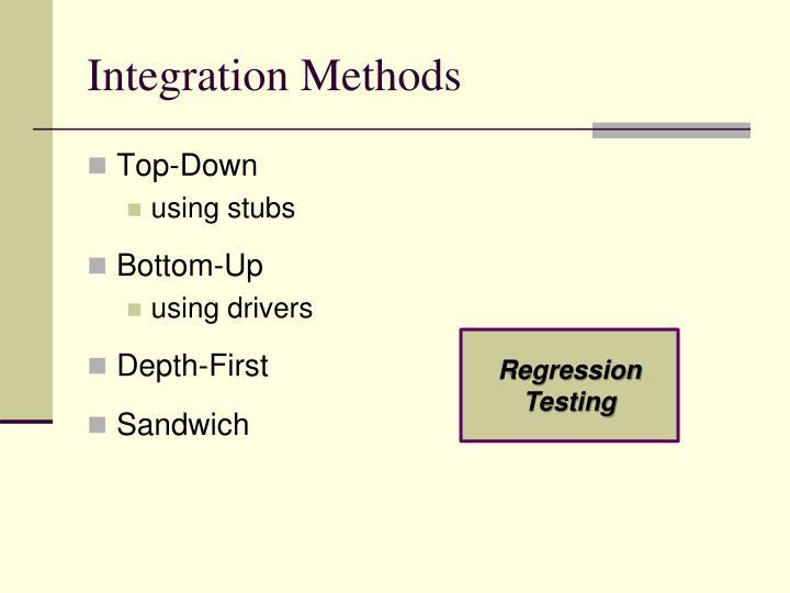 Integration Methods