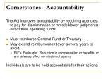 cornerstones accountability