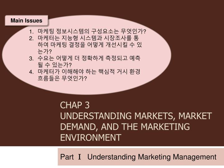 chap 3 understanding markets market demand and the marketing environment n.