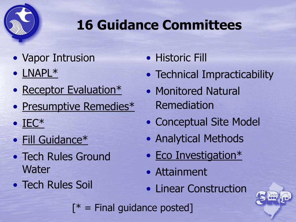 Ppt  Stakeholder Technical Guidance