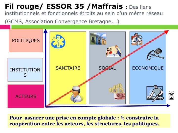 Fil rouge/ ESSOR 35 /Maffrais