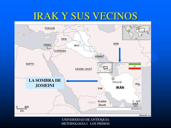 IRAK Y SUS VECINOS