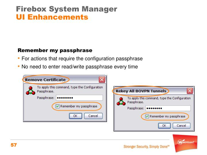 Firebox System Manager