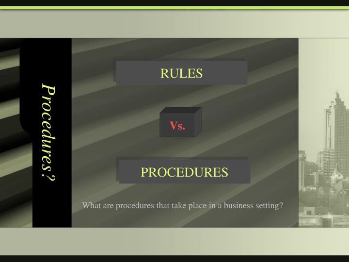 Procedures1
