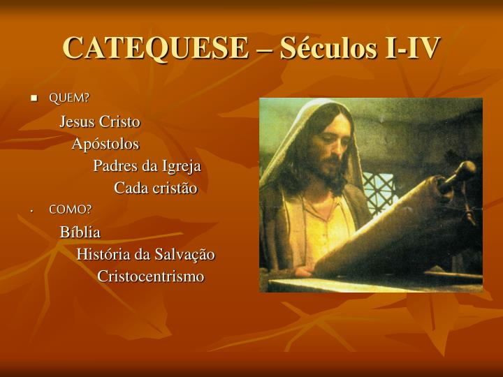 catequese s culos i iv n.
