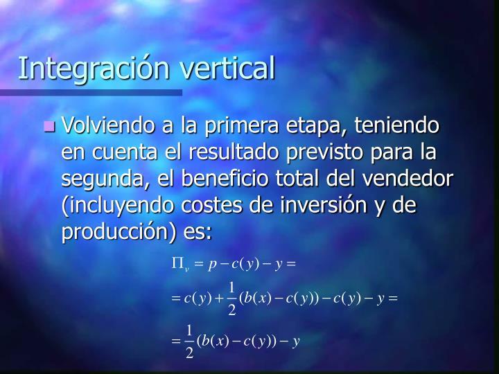 Integración vertical
