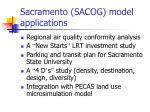 sacramento sacog model applications