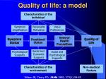 quality of life a model