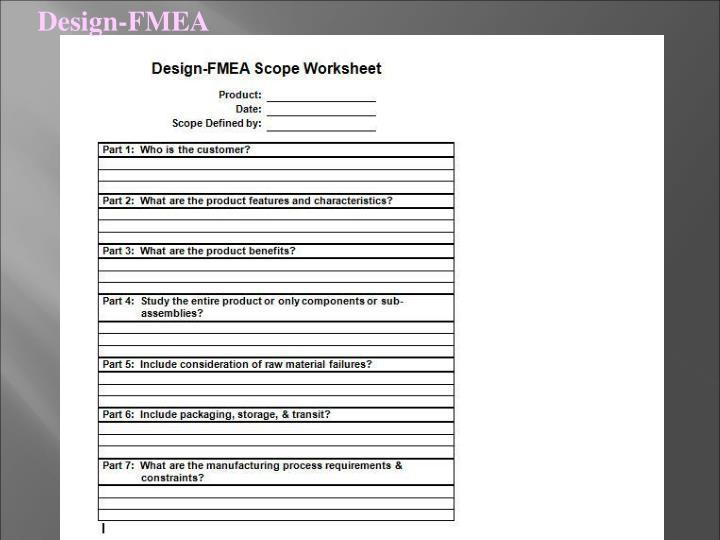 Design-FMEA